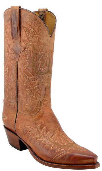 Lucchese Classics L1602 Tan Burnished Mad Dog Goat Mens Boots