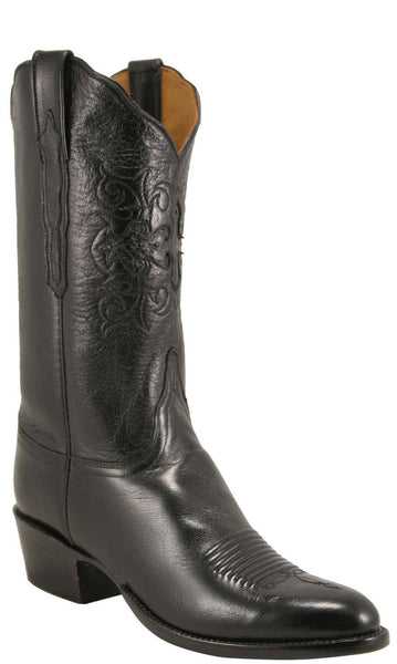 Lucchese Classics L1621 Mens Black Domingo Goat Boot