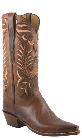Lucchese Classics L1669 Mens Peanut Brittle Burnished Mad Dog Goat Boot