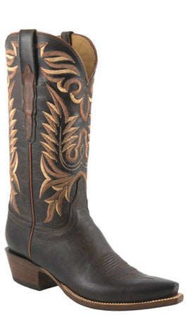 Lucchese Classics L1670 Mens Chocolate Mad Dog Goat Cowboy Boots