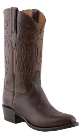 Lucchese L1688 Chocolate Oiled Calfskin Mens Classics Boots