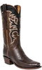 Lucchese Classics L1694 Chocolate Burnished Lavati Calfskin Mens Boots