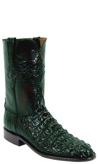 Lucchese Classics L3129 Mens Black Hornback Crocodile Boot