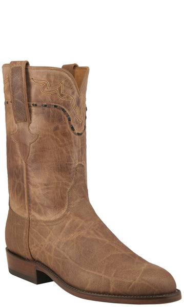 Lucchese Classics L3144 Mens Peat Elephant Burnished Mad Dog Boot