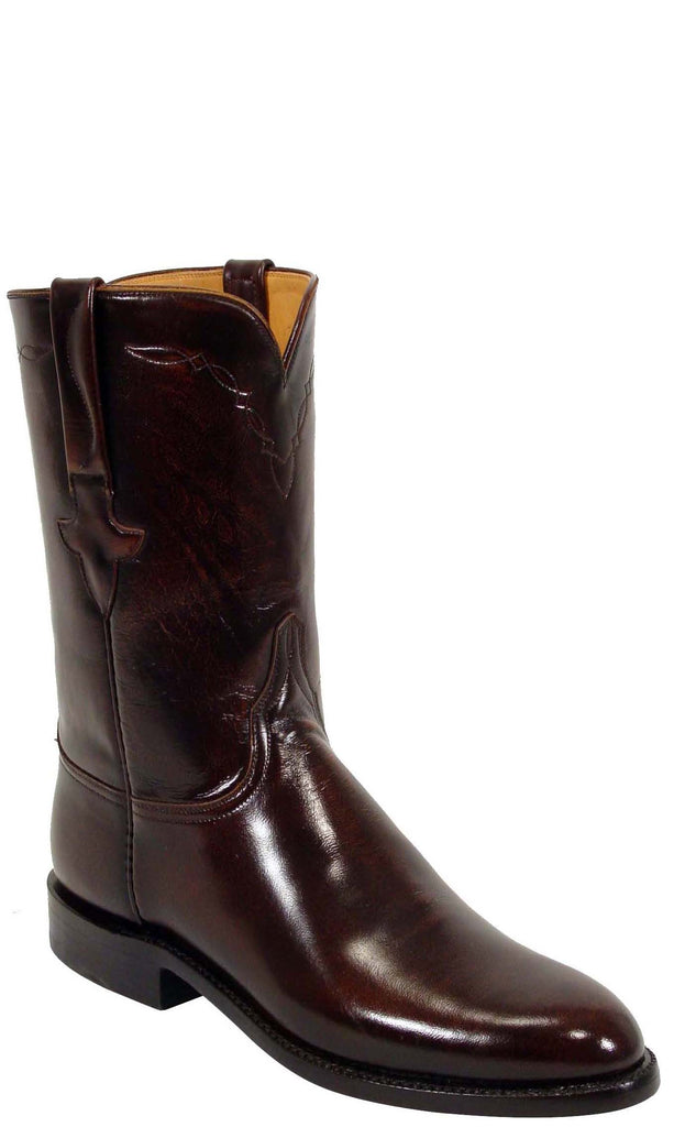 Lucchese Classics L3507 Mens Brown Goat Roper Boot
