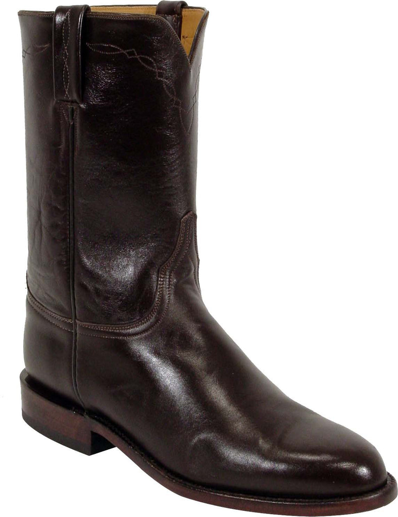 Lucchese Classics L3511 Mens Chocolate Calf Roper Boot