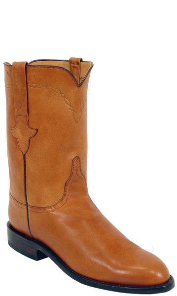 Lucchese L3517 Chocolate Ranch Hand Calfskin Mens Classics Boots