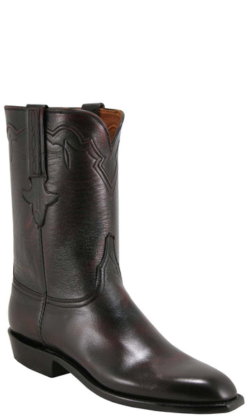 Lucchese Classics L3539 Mens Black Cherry Buffalo Boot