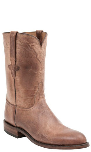 Lucchese L3570 Tan Burnished Mad Dog Goat Mens Classics Boots