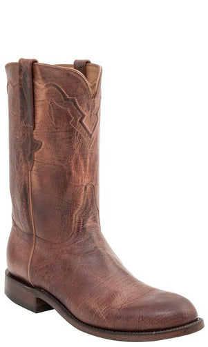 Lucchese L3573 Peanut Brittle Burnished Mad Dog Goat Mens Classics Boots
