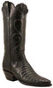Lucchese Classics L4125 Womens Black Crocodile Belly Boots
