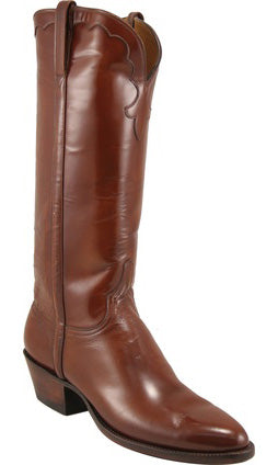 Lucchese Classics L4508 Tan Mad Dog Goat Womens Boots