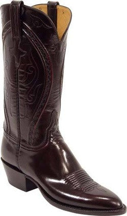 Lucchese Classics L4534 Black Cherry Goat Womens Boots