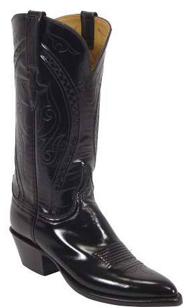 Lucchese Classics L4535 Black Goat Womens Boots