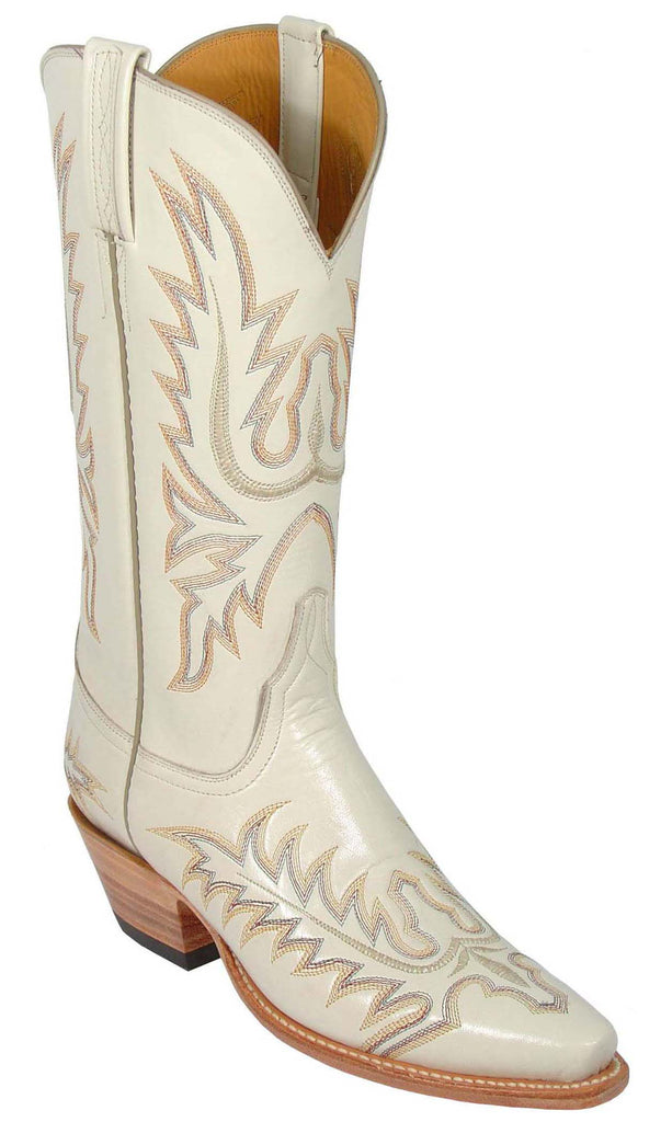 Lucchese L4559 Womens Wheat Goat Boots