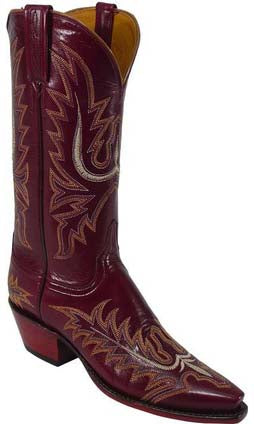 Lucchese Classics L4569 Sangria Goat Womens Boots