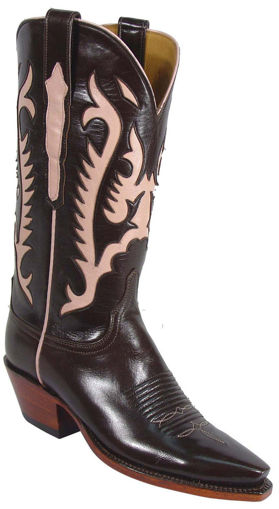 Lucchese Classics L4578 Womens Pony Brown Buffalo Boot