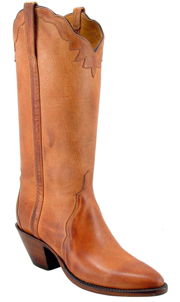 Lucchese Classics L4596 Womens Tan Burnished Mad Dog Goat Triad Boot
