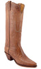 Lucchese Classics L4605 Womens Tan Burnished Mad Dog Goat Cowboy Boot