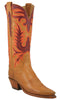 Lucchese Classics L4649 Womens Honey Ranch Hand Calfskin Boot
