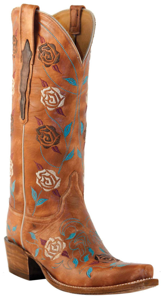 Lucchese Classics L4715 Womens Destroyed Pearwood Goat Boots