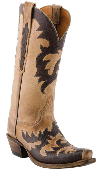 Lucchese Classics L4723.54 Womens Pearl Mad Dog Goat