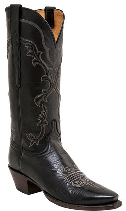 Lucchese Classics MARGOT L4761 Womens Black Baby Buffalo Boots