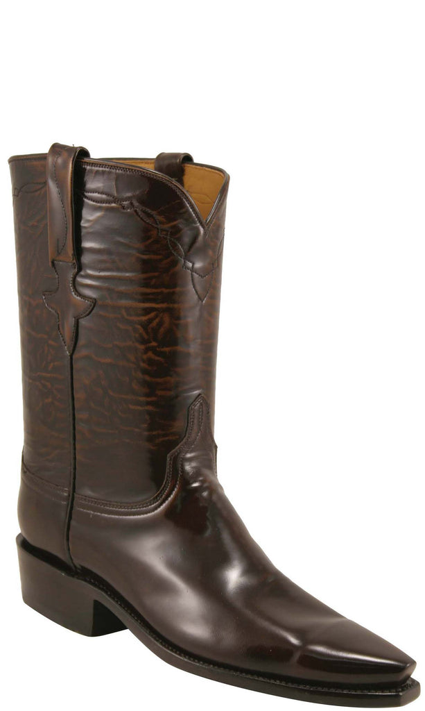 Lucchese L5506 Womens Brown Goat Roper Boots
