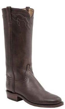 Lucchese Classics L5520.RR Womens Whiskey Burnished Baby Buffalo Boot