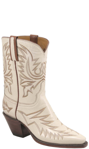 Lucchese Classics L7019 Womens Vintage Wheat Goat Boot