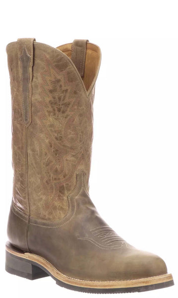 Lucchese RUSTY M0029.CF Mens Stone Calfskin Boots