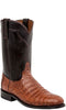 Lucchese DUSTIN M0700.C2 Mens Sienna Brown Caiman Crocodile Boots