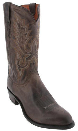 Lucchese M1001.R4 Lewis Mens Anthracite Madras Goat Boots