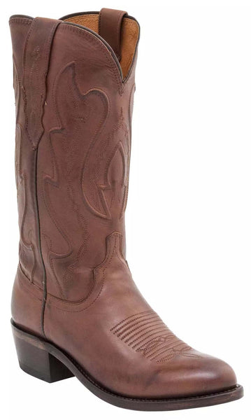 Lucchese COLE M1004.54 Mens Tan Ranch Hand Calfskin Boots
