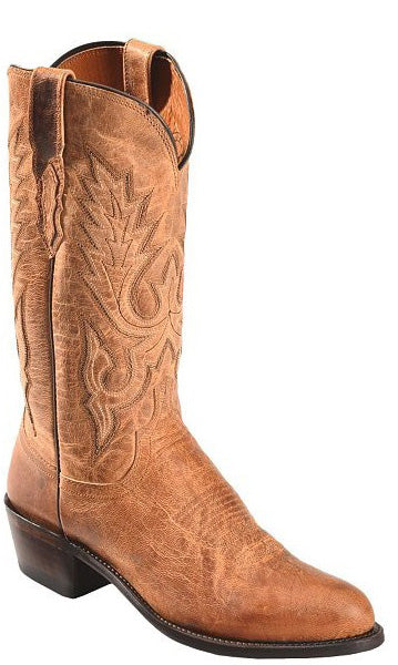 Lucchese LEWIS M1008.R4 Mens Tan Mad Dog Goat Boots