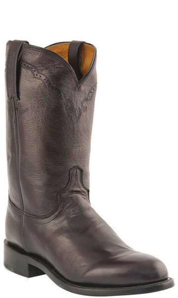 Lucchese M1011.C2 LAWRENCE Mens Black Cherry Lonestar Calfskin Roper Boots