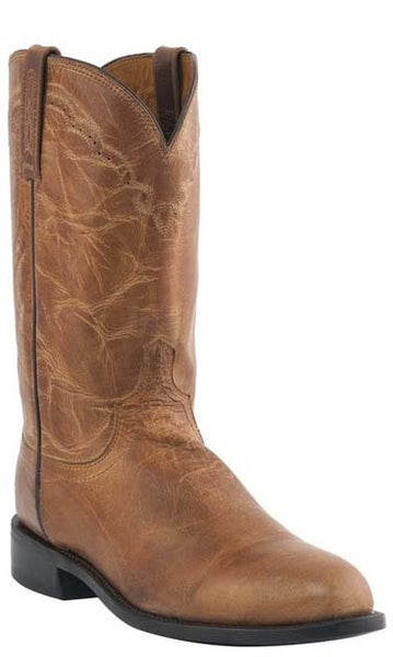 Lucchese M1017.C2 SHANE Mens Tan Mad Dog Goat Roper Boots