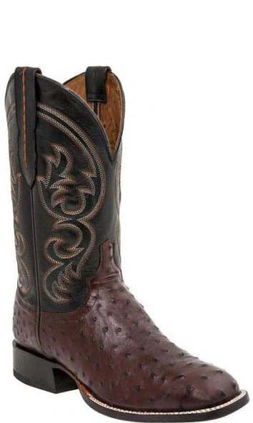 Lucchese JOSH M2699.WF Mens Sienna Full Quill Ostrich Boots