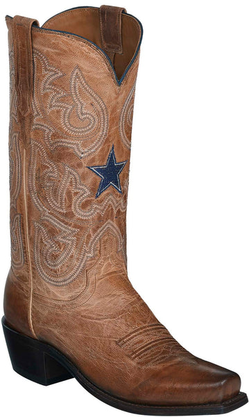Lucchese DREW M3422.74 Mens Tan Mad Dog Goat Boots