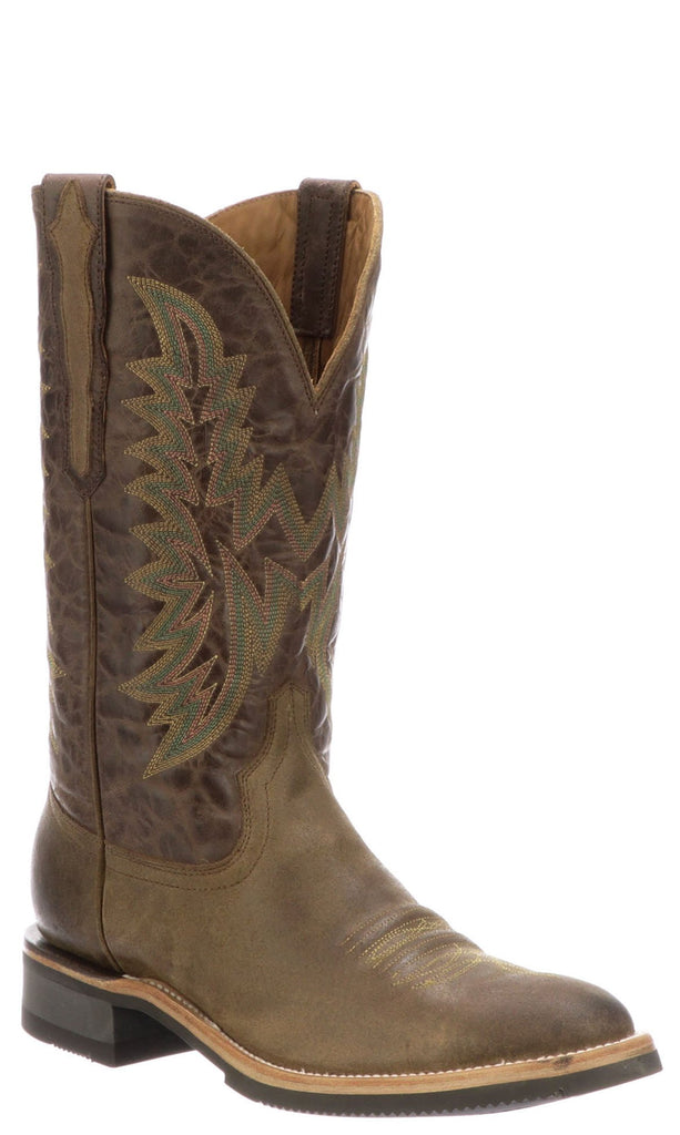 Lucchese RUDY M4093.CF Mens Olive Comanche Calfskin Boots