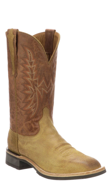 Lucchese RUDY M4094.WF Mens Sand Comanche Calfskin Boots