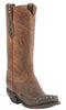 Lucchese M4601.S82F Womens Peanut Brittle Mad Dog Stud Wingtip Boots