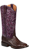 Lucchese GEORGIA M4971 Womens Brown Caiman Crocodile Boots