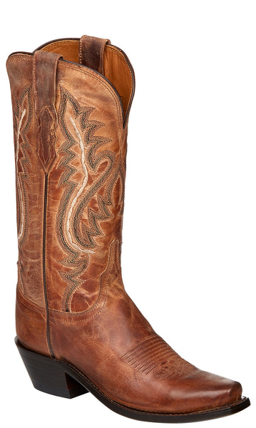 Lucchese CASSIDY M4999.74 Womens Tan Mad Dog Goat Boots