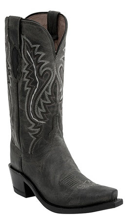 Lucchese M5001.74 CASSIDY Womens Anthracite Madras Goat Boots