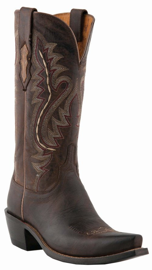 Lucchese M5002.S54 Womens Chocolate Madras Goat Boots