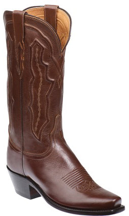 Lucchese GRACE M5004.74 Womens Tan Ranch Hand Calfskin Boots Size 8 B STALL STOCK