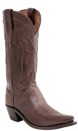 Lucchese GRACE M5004.S54 Womens Tan Ranch Hand Calfskin Boots