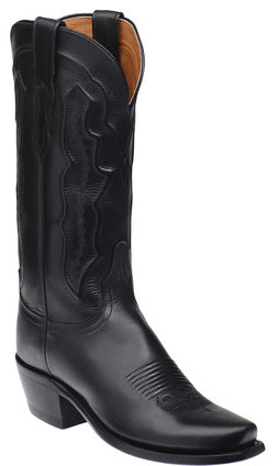 Lucchese GRACE M5006.74 Womens Grace Black Ranch Hand Boots Size 7.5 B STALL STOCK