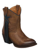 Lucchese CASSIE M5019 Womens Tan Mad Dog Goat Boots